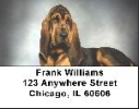 Click on Bloodhound Labels - Bloodhounds Address Labels For More Details