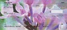 Click on Lilacs in Oil  Personal Checks For More Details