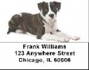 Click on American Staffordshire Terrier Address Labels For More Details