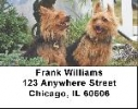 Click on Australian Terrier Address Labels For More Details