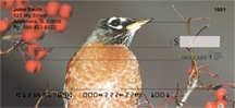 Click on Robins - Robin Red Breast Personal Checks For More Details