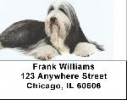 Click on Bearded Collie Labels - Bearded Collies Address Labels For More Details