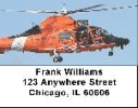 Click on Coast Guard Labels - Coast Guard Helicopters Address Labels For More Details