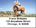 Click on Mustang Labels - Mustang Horse Address Labels For More Details