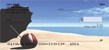 Click on Beach Scenes - Beach Personal Checks For More Details