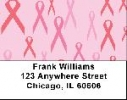 Click on Pink Ribbon Labels - Breast Cancer Backgrounds Address Labels For More Details