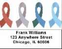 Click on Awareness Ribbons Address Labels - Awareness Labels For More Details