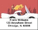 Click on Sports Car Labels - Sports Car Address Labels For More Details