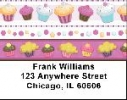 Click on Colorful Cupcakes Address Labels For More Details