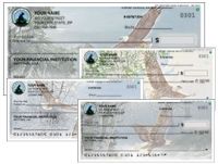 Click on National Wildlife Federation Eagles - 1 box - Duplicates Personal Checks For More Details