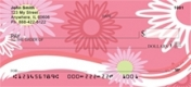 Click on Sweeping Daisies  Personal Checks For More Details