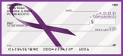 Click on A.D.D. Awareness Ribbon  Personal Checks For More Details