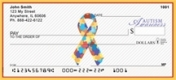 Click on Autism Awareness Ribbon  Personal Checks For More Details
