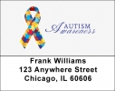 Click on Autism Awareness Ribbon Address Labels For More Details