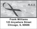 Click on MIA Remembrance Ribbon Address Labels For More Details