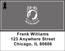 Click on POW/MIA Remembrance Ribbon Address Labels For More Details