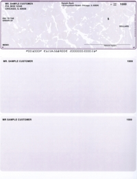 Click on Violet Marble Laser Business One Per Page Voucher Checks - Top Style For More Details