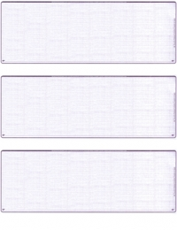 Click on Violet Safety Blank Stock For 3 to a Page Voucher Computer Checks For More Details