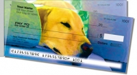 Click on Dog & Cat Side Tear Personal Checks For More Details