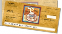 Click on Artsy Coffee Side Tear Personal Checks For More Details