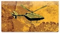 Click on Helicopter Checkbook Cover For More Details