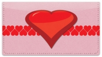 Click on Heart Perspective Checkbook Cover For More Details