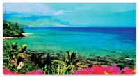Click on Hawaiian Landscape Checkbook Cover For More Details