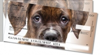Click on Boxer Pup Side Tear Personal Checks For More Details