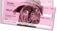 Click on Colorful Pug Side Tear Personal Checks For More Details