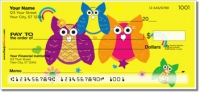 Click on Colorful Owl Personal Checks For More Details