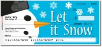 Click on Snowman Personal Checks For More Details