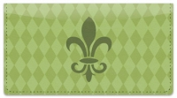 Click on Green Fleur de Lis Checkbook Cover For More Details