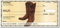 Click on Classic Cowboy Personal Checks For More Details