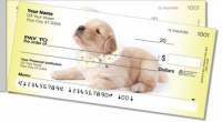 Click on Pups in Bloom 3 Side Tear Personal Checks For More Details