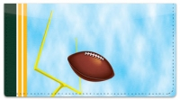 Click on Green & Gold Football Fan Checkbook Cover For More Details