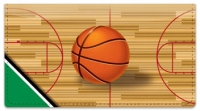 Click on Green & Black Basketball Checkbook Cover For More Details