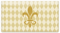 Click on Gold Fleur de Lis Checkbook Cover For More Details