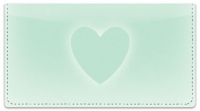 Click on Glowing Heart Checkbook Cover For More Details