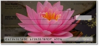 Click on Fragrant Water Lily Personal Checks For More Details