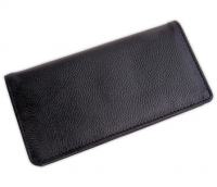 Click on Black Leather Side Tear Checkbook Cover For More Details