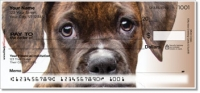 Click on Boxer Pup Personal Checks For More Details