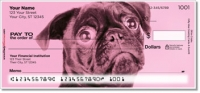 Click on Colorful Pug Personal Checks For More Details
