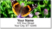 Click on Butterfly & Moth Address Labels For More Details