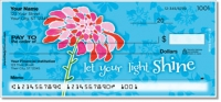 Click on Blooming Gorgeous Personal Checks For More Details