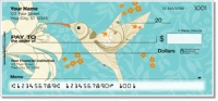 Click on Floral Hummingbird Personal Checks For More Details