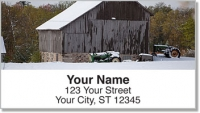 Click on Barnyard Scene Address Labels For More Details