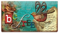 Click on Just Be Checkbook Cover For More Details