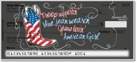 Click on All American Girl Personal Checks For More Details