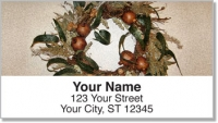 Click on Autumn Wreath Address Labels For More Details