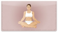 Click on Yoga Pose Checkbook Cover For More Details